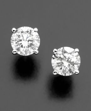 Platinum Diamond earrings equal perfect with everything...love love....nothing trendy can ever draw me away from the classic...
