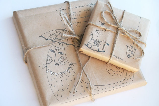 gift wrapping designGift Wrapping, Gift Wraps, Sasha Kru, Crafts Inspiration, Wraps Design, Friends Presents
