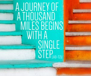 A journey of a thousand miles… Lao Tzu #marketing #quotes