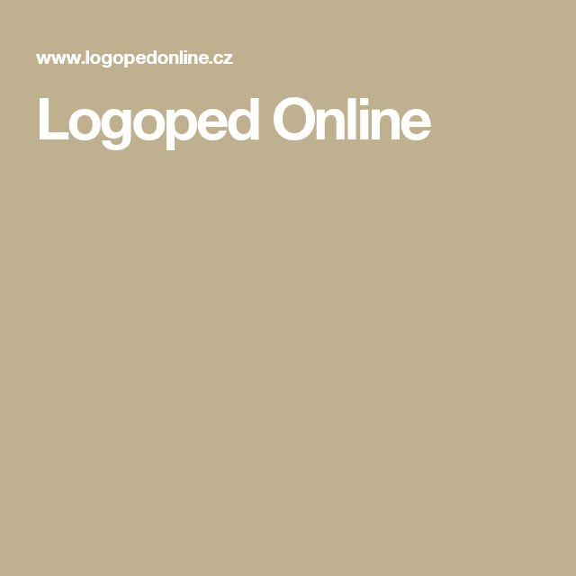 Logoped Online