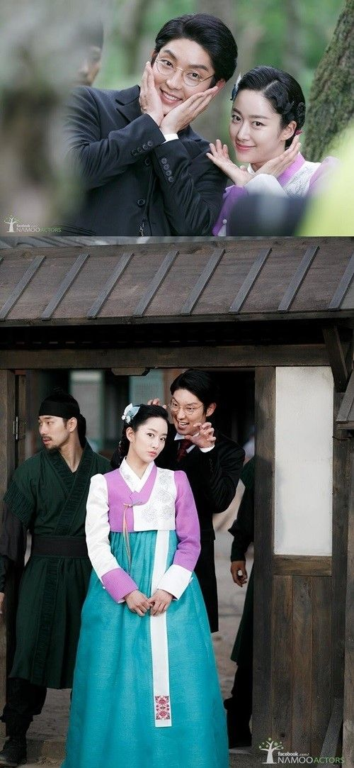 """""""The Joseon Gunman"""" - Lee Jun Ki and Jeon Hye Bin Take Silly Photos Behind-the-Scenes"""