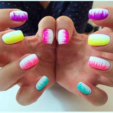 neon nail art design ideas 2016 - style you 7