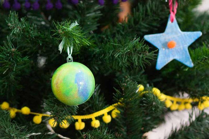 Seguimos con las ideas para decorar estas navidades!! ideas muy creativas, fáciles y baratas para preparar vuestra decoración navideña como las figuritas para el árbol de Navidad o los miniárboles para decorar cualquier rincón que ya he compartido con vosotras. Hoy le toca el turno a las bolas de navidad, que nosotros las hemos usado …