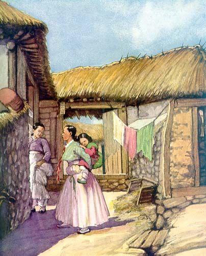 Paintings of Old Korea by Elizabeth Keith (1887-1956)