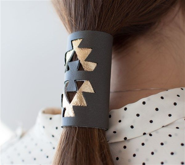 leather hair wrap make it now with the cricut explore