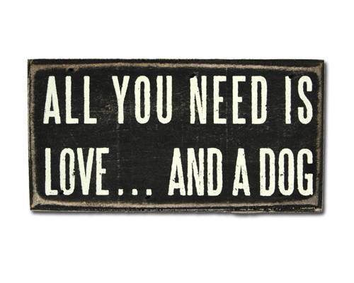 Todo lo que necesitas es amor.. Y un perro!