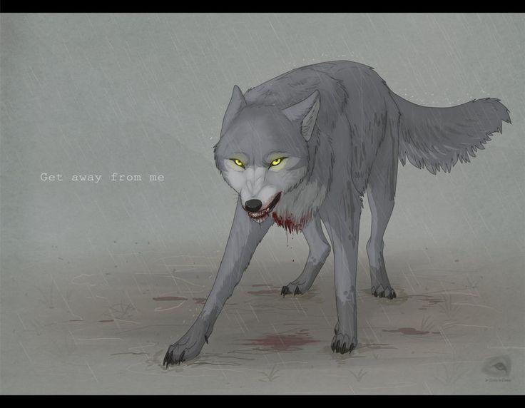 Wolf's Rain: Kiba vs. Darcia by NatalieDeCorsair on DeviantArt