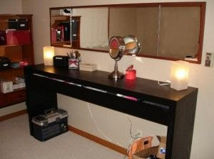 17 Best Ideas About Black Vanity Table On Pinterest