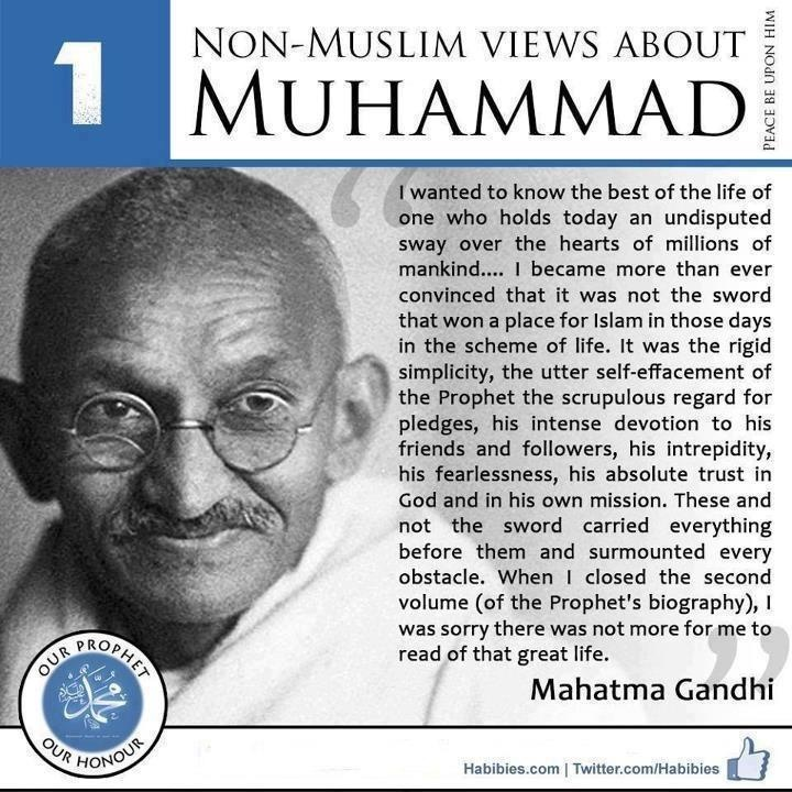 Non-Muslims Views About Prophet Muhammad SalAllahuAlayhi Wa Sallam...