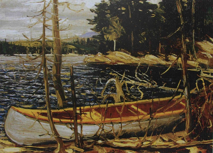 Tom Thompson The Canoe