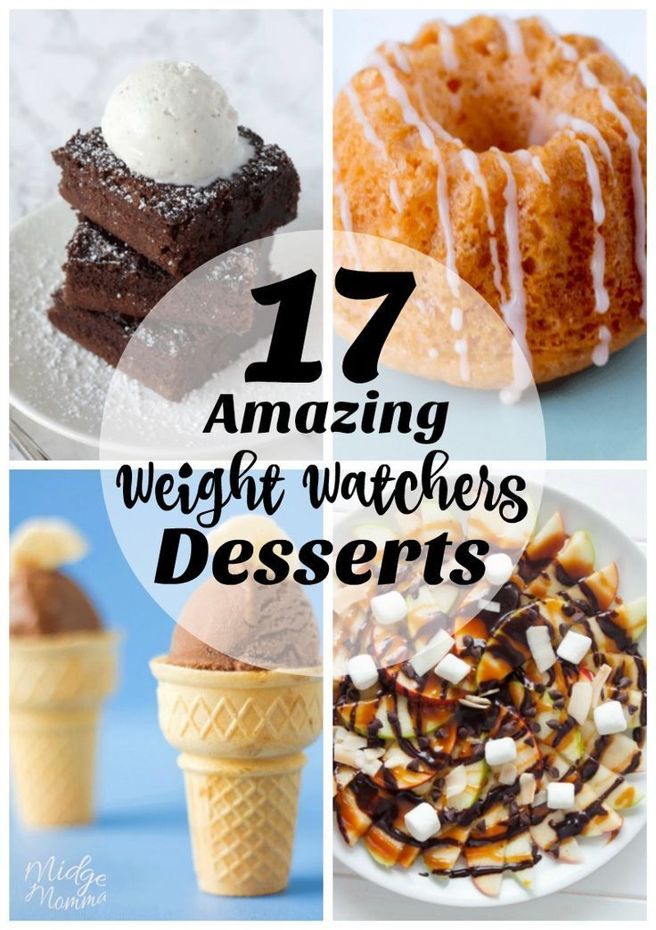 easy weight watchers desserts recipes
