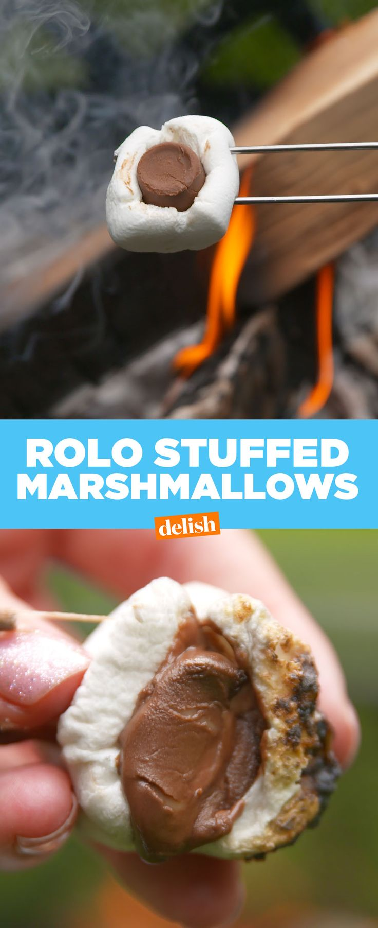 How have we never thought to put this in marshmallows before?! Get the recipe from Delish.com.