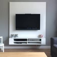25 beste idee n over tv ophangen op pinterest gemonteerde tv decor en appartement decoreren - Decoratie televisie muur ...