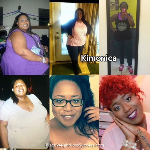 Weight Loss Transformation of the Day: Kimonica lost 234 pounds.  This amazing YouTuber has been sharing her journey online for 5 years and inspiring tons of people (over 3 million views on her videos). We are so excited to share her story today.  What I love about her story is that it proves that you can start right where you are, regardless of your size or level of mobility.  There are actions you can take to start your journey today.