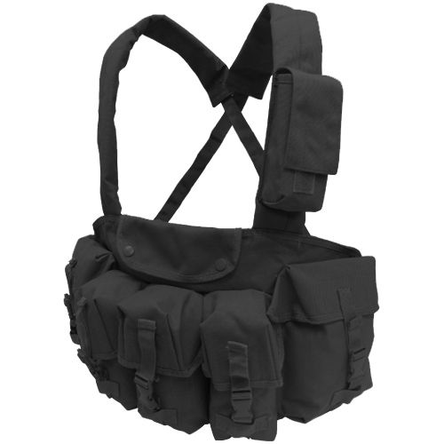 Condor 7 Pocket Tactical Chest Rig, Black