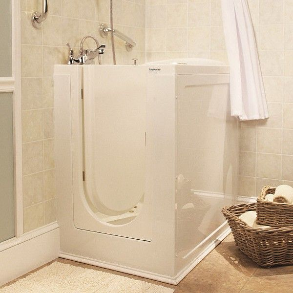 Best ADA Showers And Tubs Images On Pinterest Ada Bathroom - Shower curtain for walk in tub