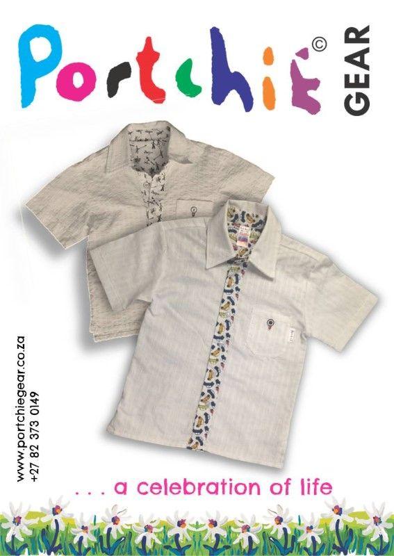 Boys #shortsleeveshirt by #portchiegear - www.portchiegear.co.za
