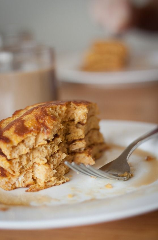 These fluffy pumpkin souffle pancakes are full of pure pumpkin flavor, and just enough spice. I've made these many times in the past, for family and friends, and I'm just as impressed each time I make them. If you are looking for a fun, fall-inspired breakfast over the next few weeks, be sure to add these to the rotation!