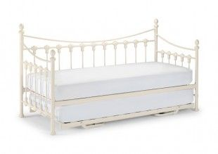 white, day bed