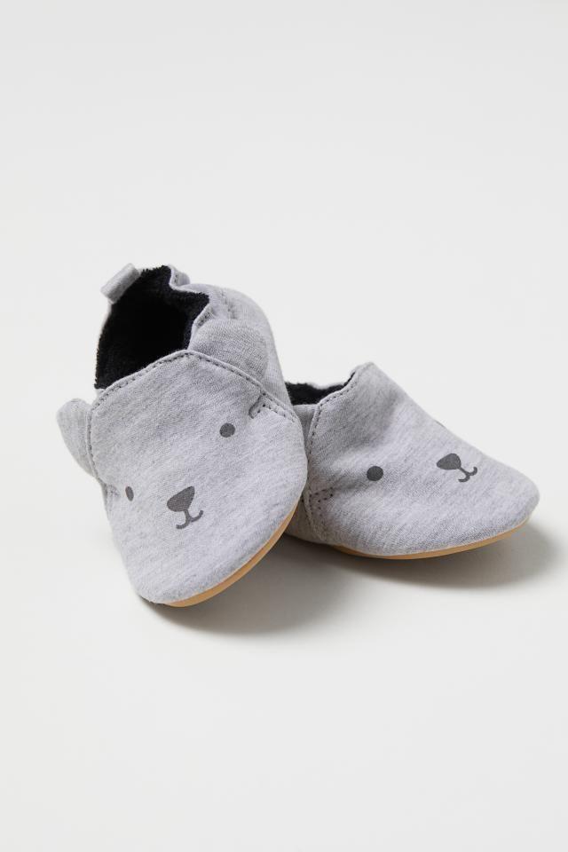 31c2b876e9a83 Slipper Socks - Light gray melange/bear - Kids | H&M US | Theodore ...