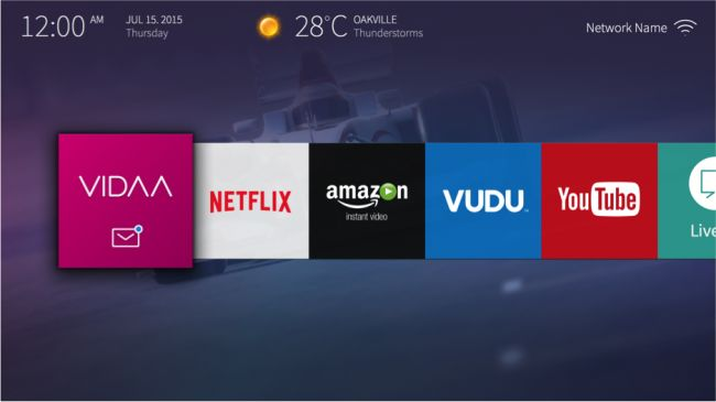 smart tv ui - Google 搜尋
