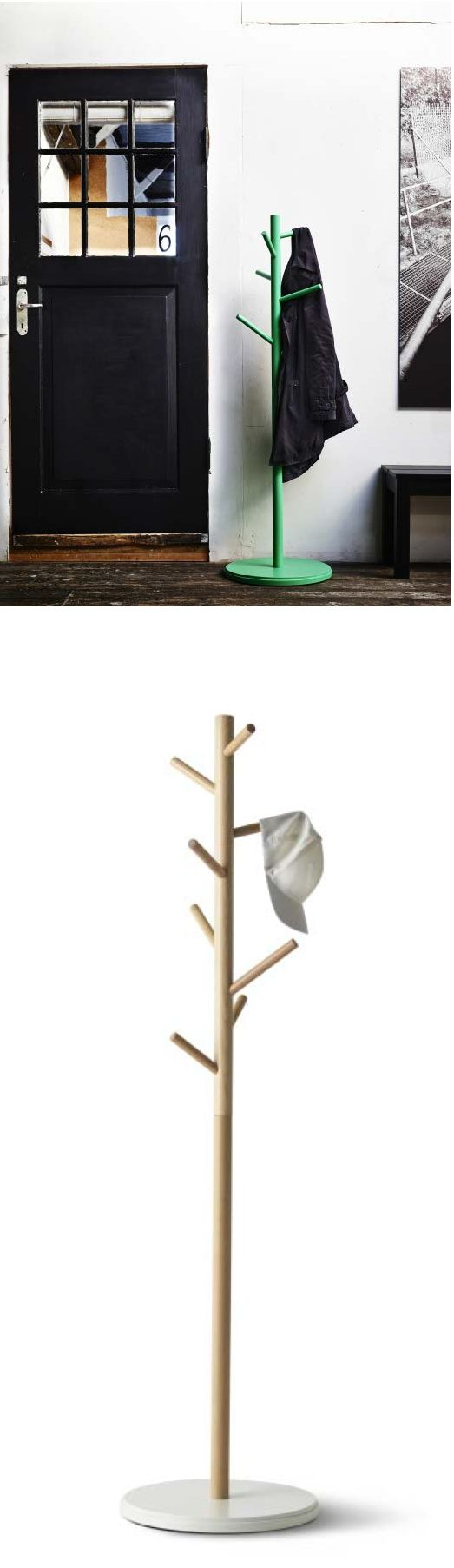 Free standing coat rack ikea woodworking projects plans for Ikea coat and hat rack