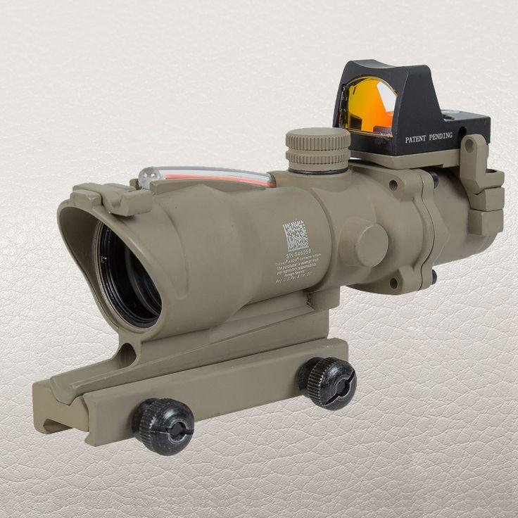 Red Dot Aluminum KILLFLASH DEFENDER Protector Cover for Good ACOG Series Tactical Scope Sight Black +Tan #Affiliate