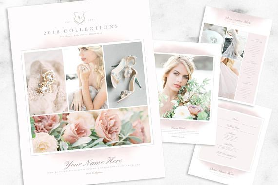 Photography Price List Multi-Page Guide | Wedding Photography Price Guide Template | Photographer Pricing Guide