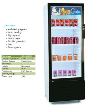"""Daftar Harga Lemari Pendingin Minuman (Showcase) Midea """"Cocok Untuk Usaha"""" - http://www.serverharga.com/daftar-harga-lemari-pendingin-minuman-showcase-midea-cocok-untuk-usaha/"""