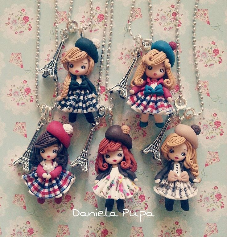 parisian stylish girls by Daniela Pupa Kawaii Jewels