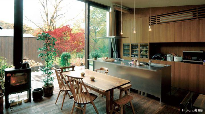「CORE」実例集 | キッチン[システムキッチン] | キッチンでライフスタイルをデザインする トーヨーキッチン