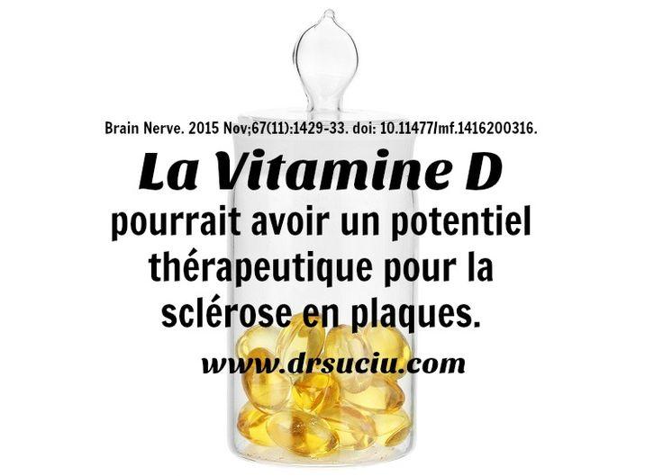 Photo drsuciu Le potentiel thérapeutique de la vitamine D en cas de sclérose en plaques