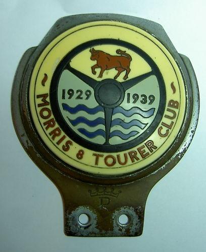 MORRIS 8 TOURER CLUB