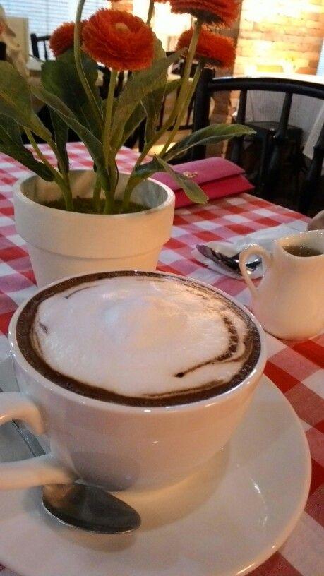 Hot chocolate at pokenbir