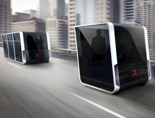 Sistema de transporte autónomo inteligente Next.