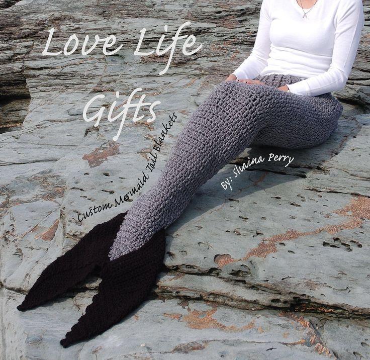 Mermaid blanket, Mermaid tail blanket, custom made, newborn, toddler, child, teen, adult, mermaid costume, mermaid outfit, mermaid birthday by LoveLifeGifts on Etsy https://www.etsy.com/listing/265589311/mermaid-blanket-mermaid-tail-blanket