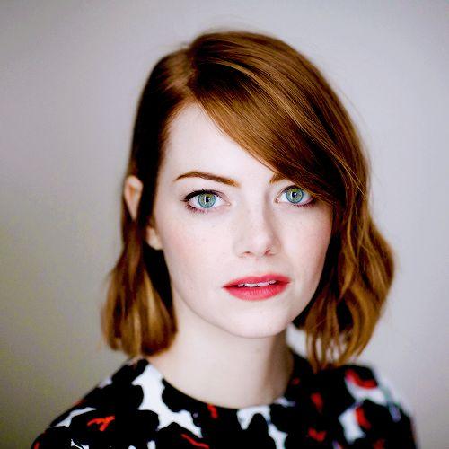 Emma Stone for New York Times, 2014 | www.claritybeauty.com