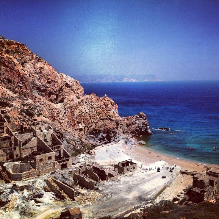 #milos #island #greece #sea #beach #theiorixia