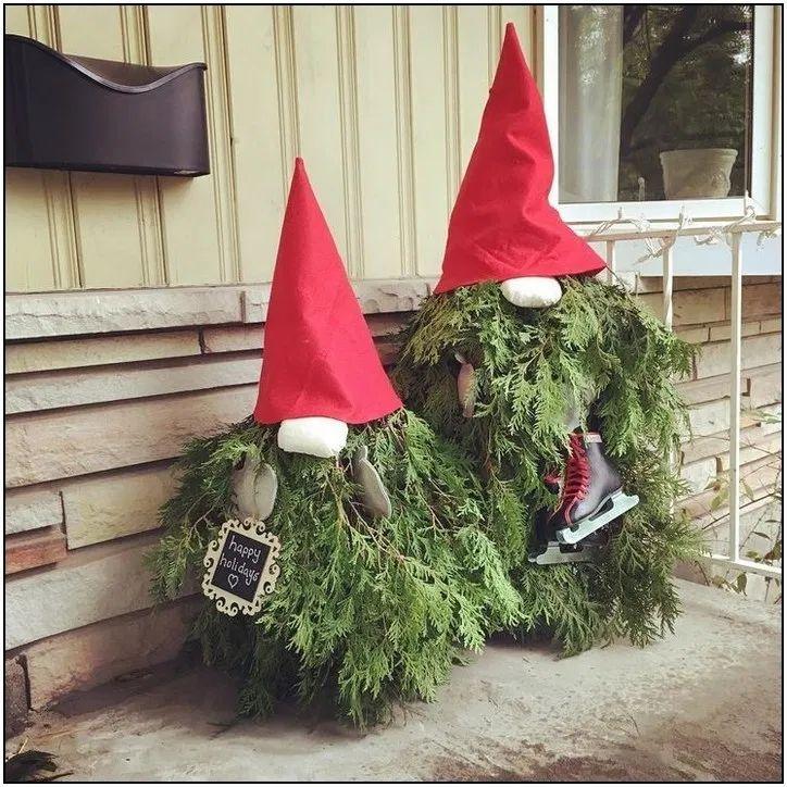 156+ Christmas Gnome Porch