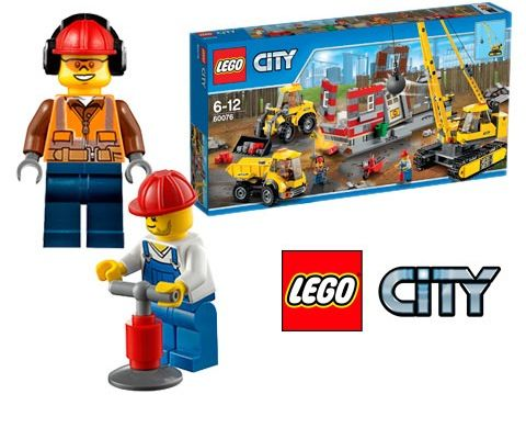 Win 5 x LEGO® CITY Demolition Site sets sweepstakes