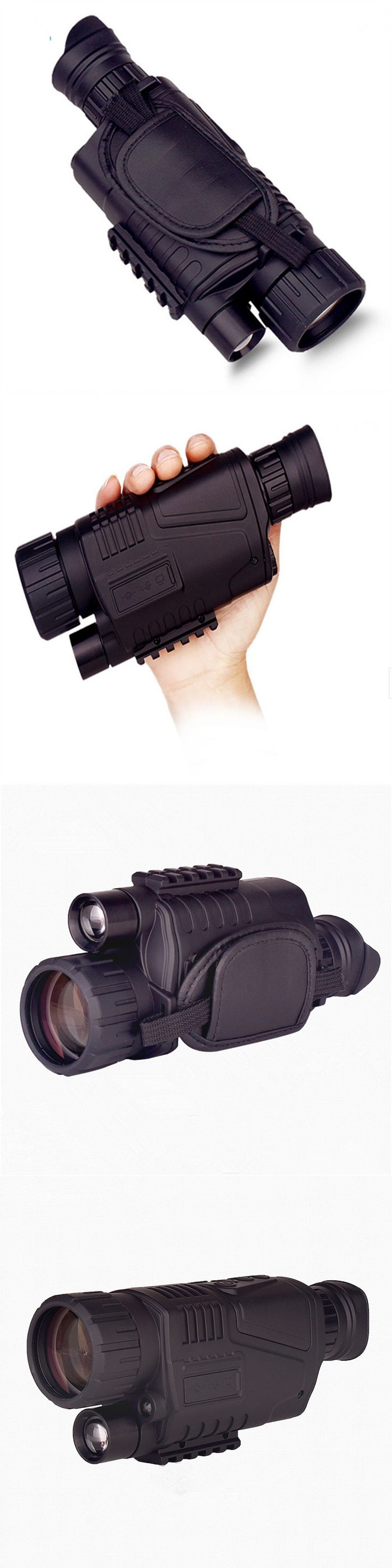 Professional infrared night vision monocular camping hunting night vision goggles video camera telescope Support Drop shipping