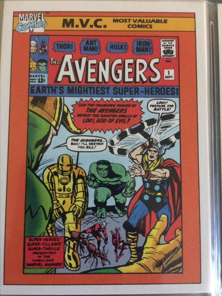 Avengers image by oldmanspider on trading cards of all