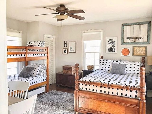 How Amazing Is This Boys Bedroom Makeover From Themustardseed205 I Think She Did An Awesome Job Incorporat Bedroom Makeover Boys Bedroom Makeover Boy Bedroom