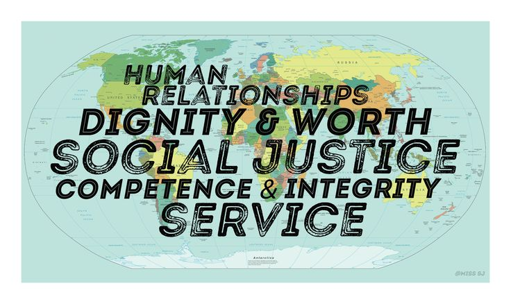 social work core values of the nasw code of ethics  just a