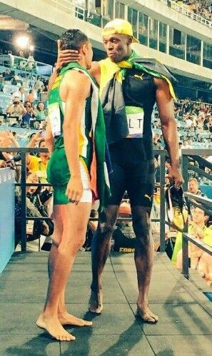 LEGENDS USAIN BOLT & WAYDE VAN NIEKERK