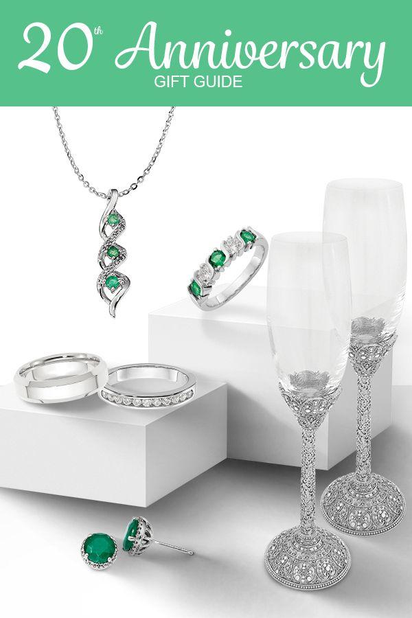 20th Wedding Anniversary Gift Ideas Celebrate A 20th Anniversary