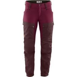 Fjällräven W Keb Trousers Curved Regular   32,34,36,38,40,42,44,46,48   Lila   Damen Fjällräven