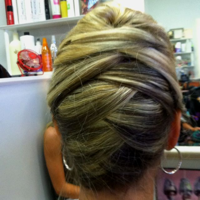 Mother of the Bride look like this one too almost like a French twist but with a little something different