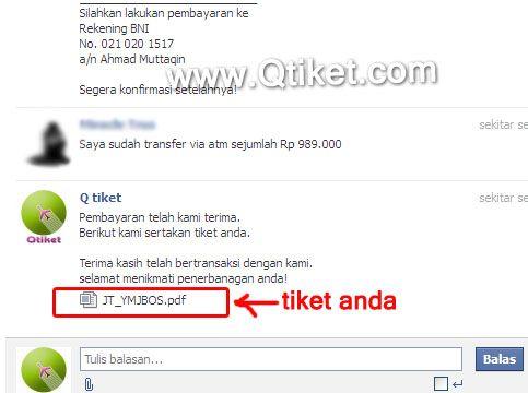 bayar tiket