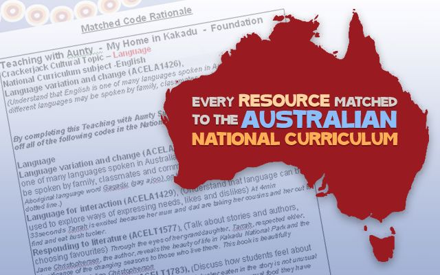 Crackerjackeducation.com.au Aboriginal and Torres Strait Islander - resources matched to Australian Curriculum